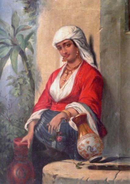 المرأة العربية في الفن التشكيلي