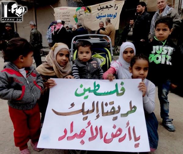 فلسطينيو سوريا وموطنهم الأصلي في فلسطين بقلم:علي بدوان