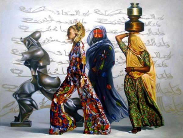 الخط العربي والتعبير عن قضايا الجسد بين العنف والفكرة تتفجر الجماليات