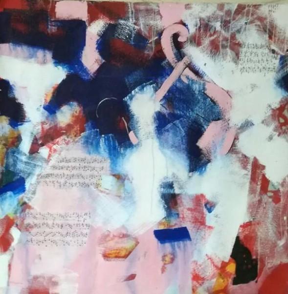 التشكيلية السورية منيرفا مرعي رؤى الأنوثة تسرد الواقع رمزاً والخيال ألواناً