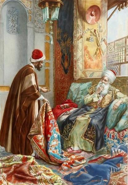 الاستشراق الإيطالي تأثيره الخيالي على ملامح اللوحة التشكيلية ورؤى التواصل مع الشرق بصرياً