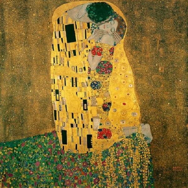 """قراءة في لوحة """"القبلة"""" لغوستاف كليمت"""