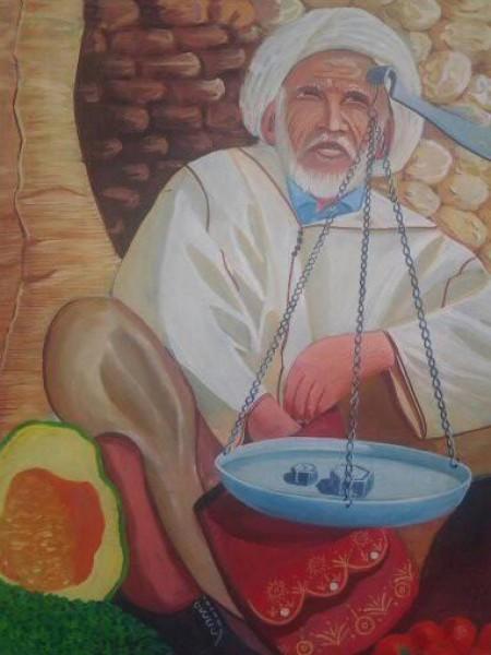 العودة إلى القصبات الأمازيغية عبر التشكيل قراءة عابرة لأعمال الفنان محمد بن حمو