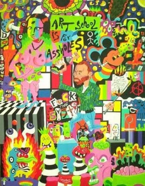 فن الخارجيين تجربة التشكيلي جيراردو غوميز