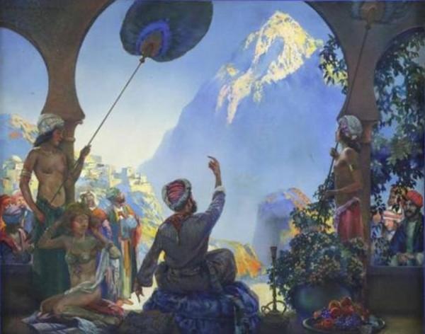التوظيف الجمالي للتراث الأدبي العربي في لوحات المستشرقين