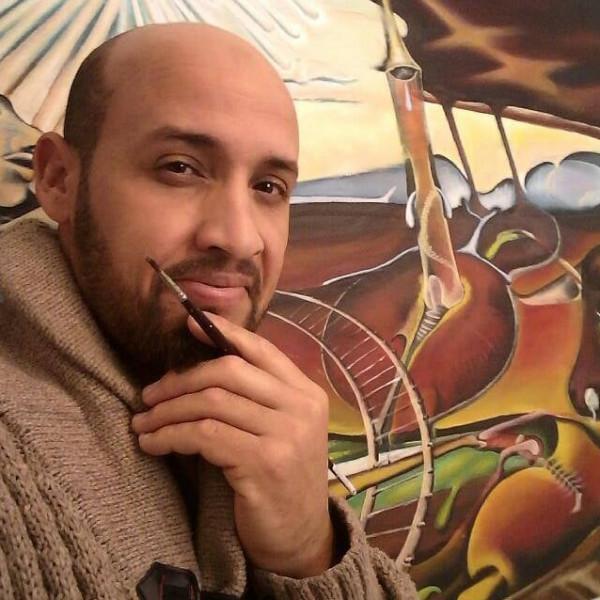 الفنان التشكيلي إدريس الحسكي .. تأثرتُ بالطبيعة وشعاري الإبداع