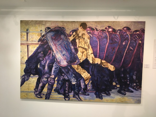 """انطباعاتي من معرض """"عبق الجنوب"""" للفنان الفلسطيني خضر وشاح"""