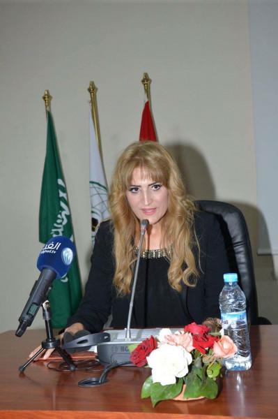 لقاء أدبي وفني مميز تكريماً للشاعرة المغربية سميرة فرجي في تنظيم النادي الجراري