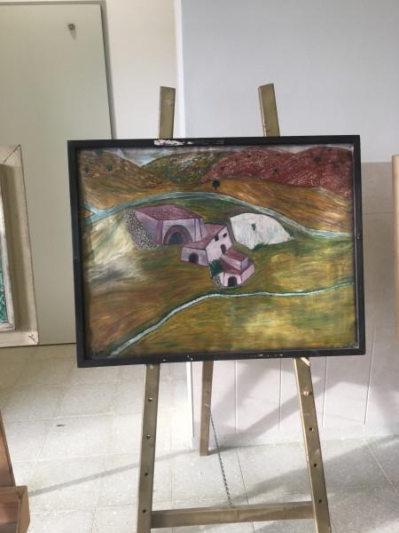"""معرض """"أحوالنا"""" للفنان الفلسطيني جميل عمرية"""
