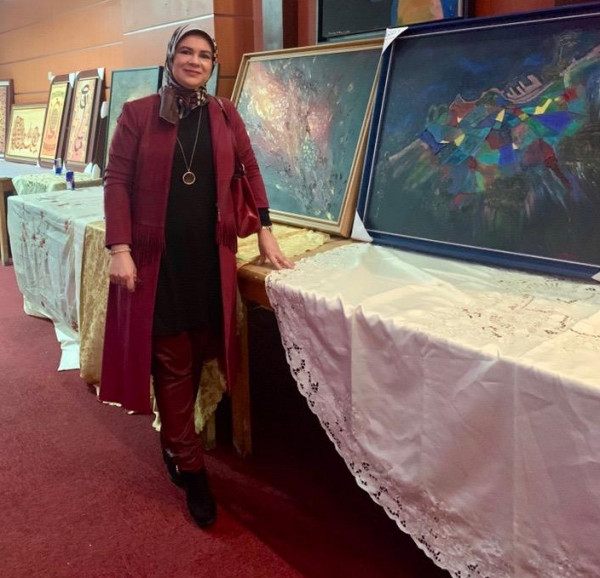حوار مع الفنانة التشكيلية إيمان اشكلانط