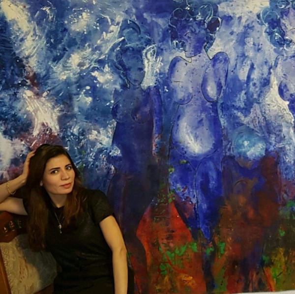 التشكيلية لورين علي: الفن الغربي بحراً يستدعي جهداً نثبت فيه وجودنا