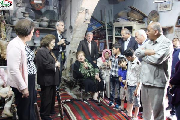 الرواد الكبار في جولة في مدينة الحصن بقلم : زياد جيوسي