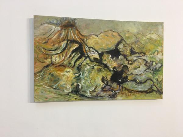 جولة في معرض الفنّان الفلسطينيّ خليل ريّان