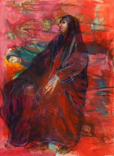 رمزية المرأة في تجربة التشكيلية العراقية ليلى كبة Leila kubba