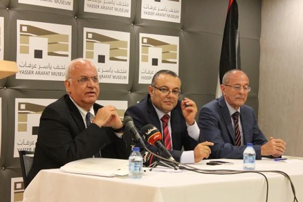 احياء مئوية د.حيدر عبد الشافي في متحف ياسر عرفات