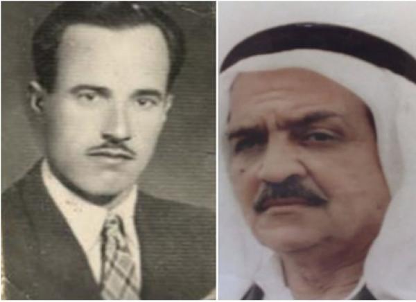 من أعلام اليرموك منذ بداياته: والدي الحاج أبو العبد، وصديقه الحاج أبو محمد الحصري