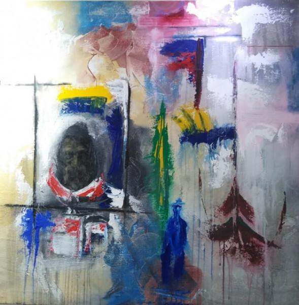 التشكيلي حسين الكداني عندما يستطيع الفنان أن يمنح للعمل الفني توازنه الانساني