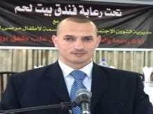 هنــاك في غزة الشــاعر عماد شختور