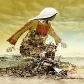 لوحات من أعمال الفنان عماد أبو شتية