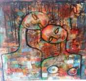 أنا وهو ورابعنا قصيدة - قصيدة ولوحات لبنى ياسين