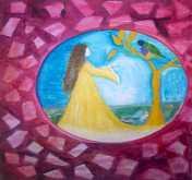 لوحات للفنانة خديجة راشدي