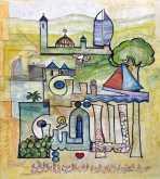 إفتتاح معرض الفن التشكيلي لفنان كميل ضو في حيفا