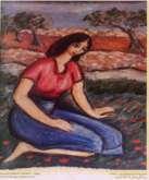 من أعمال الفنان جبرا ابراهيم جبرا