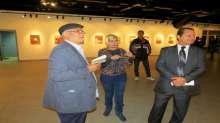 الفنانة التشكيلية ريهام السنباطي تقود دعوة التبادل الثقافي بين مصر والإمارات