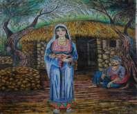 لوحات للفنان التشكيلي الشاب محمود المقيد