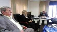 وفد من مثقّفي الدّاخل يهنئ الشّاعر عبد النّاصر صالح