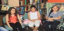 """انطلاق مشروع """"الكاتب الصغير"""" في مكتبة بلدية شفاعمرو العامة"""