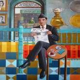 بعض لوحات الفنانة العراقية المغتربة نادية أوسي