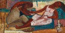 لوحات فنية للفنانة تحية حليم