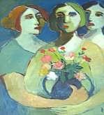الفنان الزين الحرباوي  تجربة خبر صاحبها تفاصيل  الألوان و أصواتها الملائمة فراح يبثها في الأرجاء