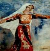 الفنانة التشكيلية الفلسطينية  ( لطيفة يوسف )بقلم:عبد الهادي شلا