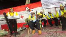 أغنيات أكتوبر تجلجل في ميدان الثورة بالمنصورة بقلم فاطمة الزهراء فلا