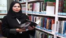 خمسة آلاف إصدار في مكتبة فاطمة المزروعي