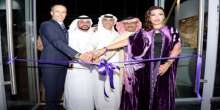 بحضور الفن والاعلام الفنانة التشكيلية لمياء منهل تقيم معرضها في دبي