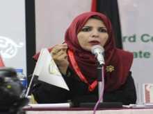 د.عبير ثابت الفتاة الأولى في قطاع غزة أستاذ العلوم السياسية والعلاقات الدولية