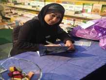 الشاعرة فاديا حسون قدمت ديوانها زهرة آلامي للشاعرة سماح صفاوي