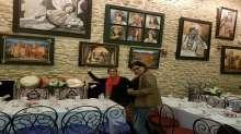 الفنانة التشكيلية نعيمة السبتي أمنيتي أن تدخل لوحاتي كل البيوت المغربية