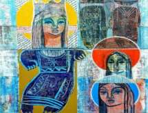 الفنانة ريما المزين تشارك ب (نجمة الصبح) تضامنا مع القدس