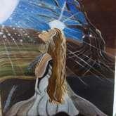 لوحة للفنانة سحر عزام  بقلم: زياد جيوسي