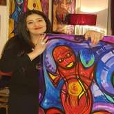 شاليمار الشربتلي فنانة تشكلية بموصفات عالمية