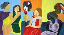 آفاق وألوان  بقلم: زياد جيوسي