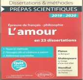 "صدور كتاب "" L'amour en 23 dissertations """