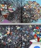 التشكيلي عدنان شرارة الاستفهامات الذهنية خصوصية فردية تسرد صورة تشكيلية من واقع التزام فني بالإنسانية