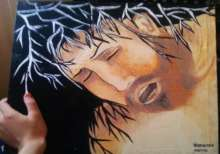 الفنانة التشكيلية  أميمة خرو: اللوحة التشكيلية حقيبة لمشاعري