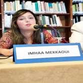 مشاركة الشاعرة إمهاء مكاوي في اليوم العالمي للسلم