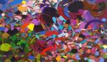 الفراغ نُضج التجريب التشكيلي لعناصر التجريد المعاصر في تجربة سامية حلبي